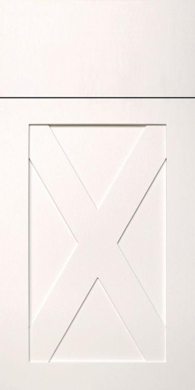 Crossbuck Cabinet Door Style